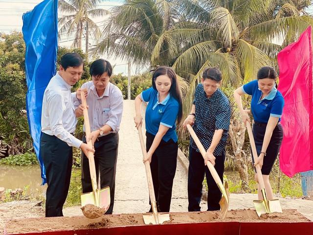 Quỹ Hành Trình Xanh cùng NCB tài trợ xây cầu tại Đồng Tháp - Ảnh 1.