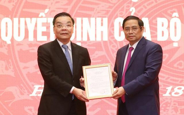 Bộ trưởng KH&CN Chu Ngọc Anh làm Phó Bí thư Thành ủy Hà Nội - Ảnh 1.