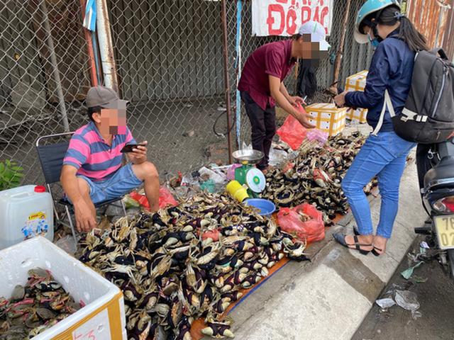 Thực hư cua Cà Mau 50.000 đồng/3 con bán đầy đường, bao ăn  - Ảnh 2.