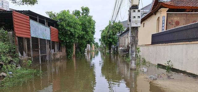Sau bão, nhiều hộ dân vẫn bị cô lập trong biển nước, cột viễn thông cao cả trăm mét bị xô đổ - Ảnh 9.