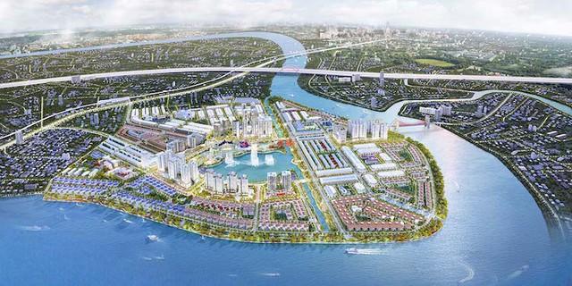 [Đánh Giá BĐS] Bên trong KĐT 10.000 tỷ ven sông Sài Gòn, một trong 3 bán đảo đẹp nhất Tp.HCM - Ảnh 1.