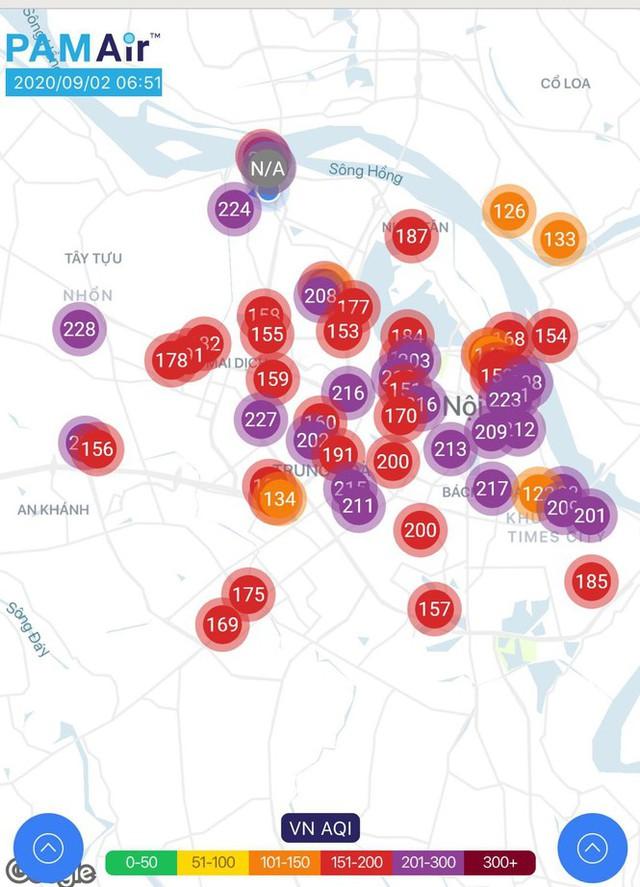 Hà Nội và các tỉnh miền Bắc ô nhiễm không khí nghiêm trọng - Ảnh 1.