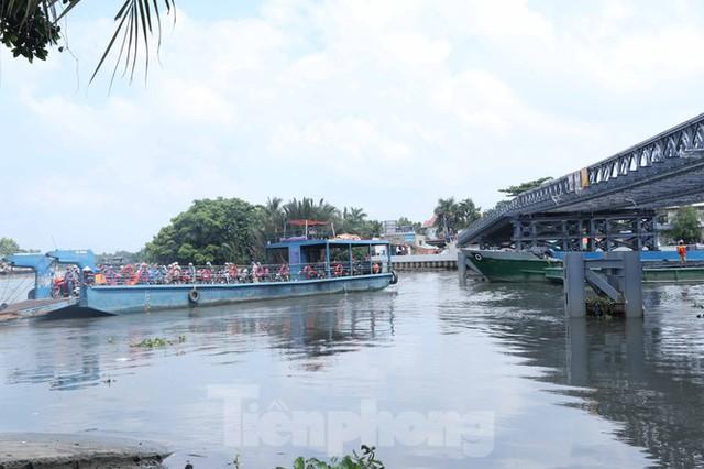 Cận cảnh cây cầu thay thế bến phà cuối cùng trong nội thành Sài Gòn - Ảnh 1.