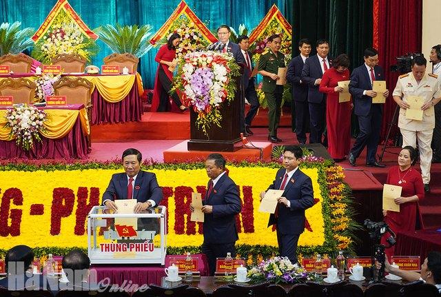 Bà Lê Thị Thủy được bầu làm Bí thư Tỉnh ủy Hà Nam - Ảnh 1.