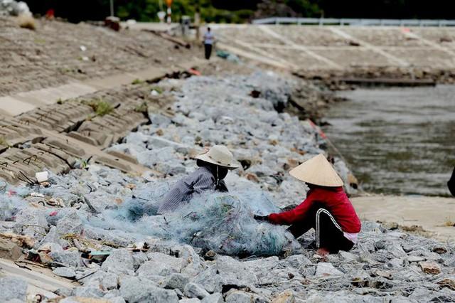 Đê chắn sóng 300 tỷ ở Hà Tĩnh sạt lở, đứt gãy sau bão số 5 - Ảnh 10.