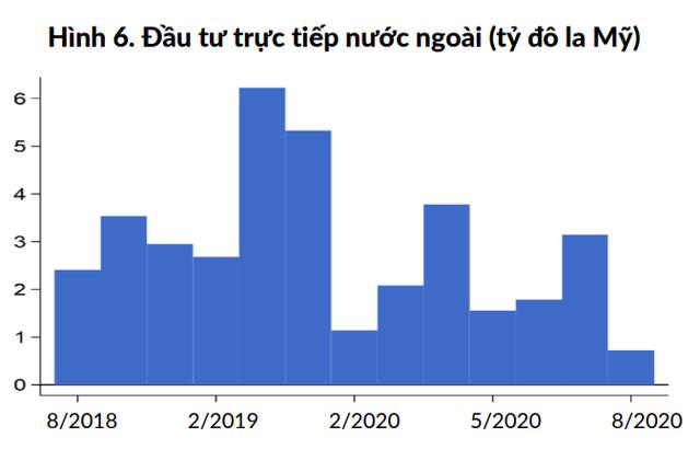 Ngân hàng Thế giới: FDI tháng 8 của Việt Nam dường như tạm ngưng - Ảnh 4.
