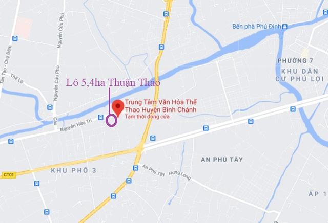 """Lô đất vàng Quận 1 và 22ha ở Bình Chánh của """"bông hồng vàng"""" Phú Yên mà BIDV tiếp tục bán đấu giá - Ảnh 2."""