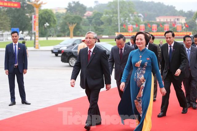 Thường trực Ban Bí thư Trần Quốc Vượng dự Đại hội Đảng bộ tỉnh Yên Bái - Ảnh 1.