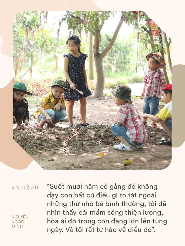 Giảng viên Đại học Sư Phạm Hà Nội: Suốt mười năm, tôi cố gắng để không dạy con bất cứ điều gì to tát ngoài những thứ nhỏ bé bình thường - Ảnh 1.