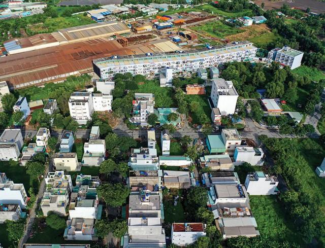 Chưa lên quận, các huyện ven TPHCM đã dính nhiều sai phạm đất đai, xây dựng - Ảnh 3.
