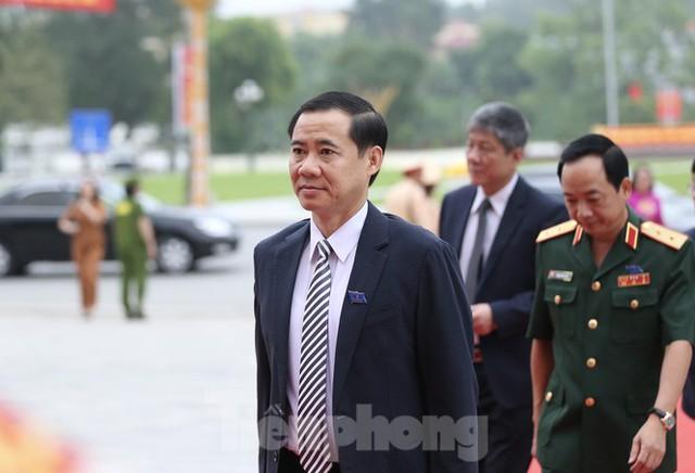 Thường trực Ban Bí thư Trần Quốc Vượng dự Đại hội Đảng bộ tỉnh Yên Bái - Ảnh 4.