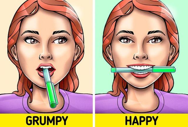 Ngậm 1 cây bút chì ngang miệng có thể khiến bạn hạnh phúc hơn, hóa ra nguyên nhân lại đơn giản đến thế - Ảnh 4.