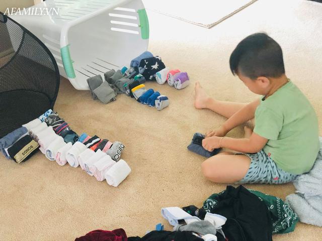 Con trai mới 6 tuổi đã tự giác ngủ dậy đi học, chủ động làm việc nhà y như người lớn, tất cả nhờ cách dạy đáng học hỏi của người mẹ - Ảnh 3.