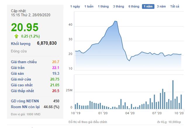Vợ Chủ tịch HĐQT Hoàng Huy Group đăng ký mua 18 triệu cổ phiếu TCH - Ảnh 1.