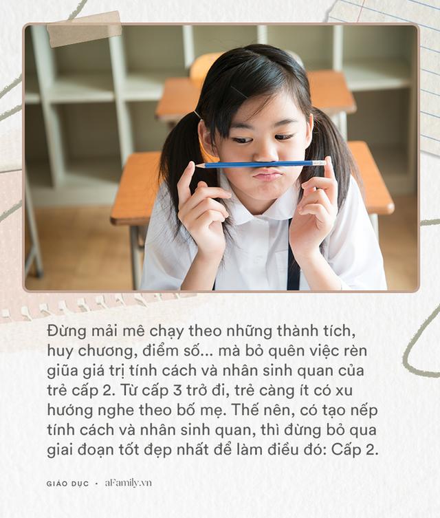 Thêm 1 bài viết không thể bỏ qua của Tiến sỹ Nguyễn Chí Hiếu gửi tới các cha mẹ có con học cấp 2 trước ngày khai giảng đang cận kề - Ảnh 4.