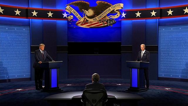 Toàn cảnh cuộc tranh luận đầu tiên giữa ông Trump và Biden: Hỗn loạn, công kích cá nhân và những lời miệt thị - Ảnh 2.