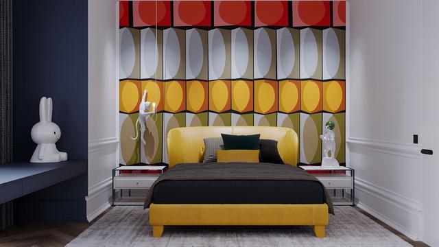 Những không gian phòng ngủ trẻ em rực rỡ sắc màu - Ảnh 1.