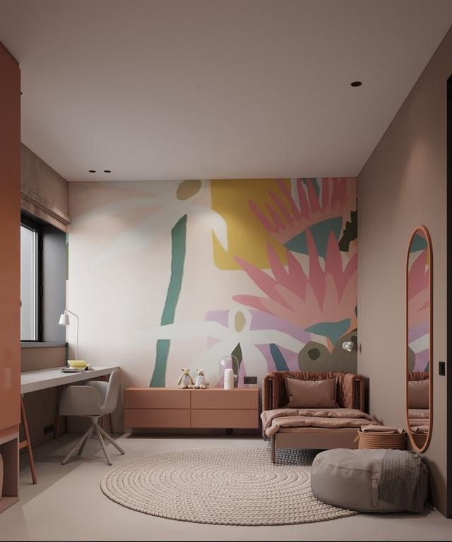 Những không gian phòng ngủ trẻ em rực rỡ sắc màu - Ảnh 3.
