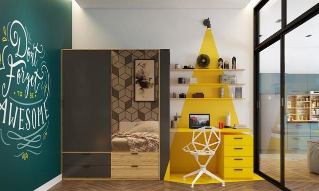 Những không gian phòng ngủ trẻ em rực rỡ sắc màu - Ảnh 5.