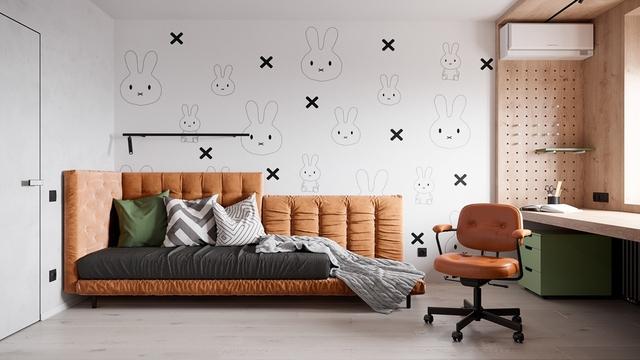Những không gian phòng ngủ trẻ em rực rỡ sắc màu - Ảnh 7.