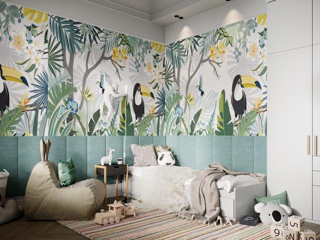 Những không gian phòng ngủ trẻ em rực rỡ sắc màu - Ảnh 8.