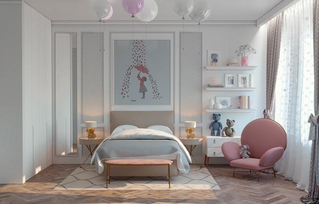 Những không gian phòng ngủ trẻ em rực rỡ sắc màu - Ảnh 9.