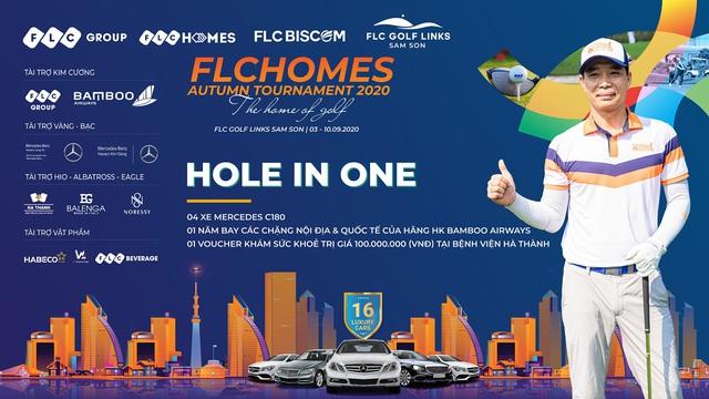 Golfer Việt may mắn ghi hold-in-one 10 tỷ đồng ngay sau lễ khai mạc giải, vẫn còn 12 xe Mercedes đang tìm chủ nhân - Ảnh 1.