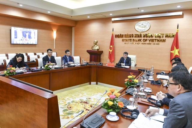 Thống đốc Lê Minh Hưng: NHNN đang nghiên cứu để đưa nội dung chuyển đổi số và Fintech vào Luật các TCTD - Ảnh 1.
