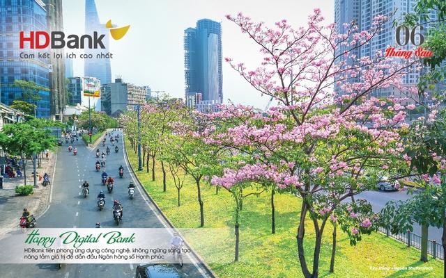 Đi cùng 12 mùa hoa đất nước qua lịch HDBank 2021 - Ảnh 1.