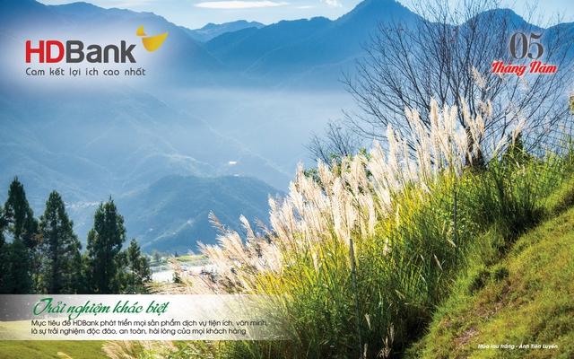 Đi cùng 12 mùa hoa đất nước qua lịch HDBank 2021 - Ảnh 2.