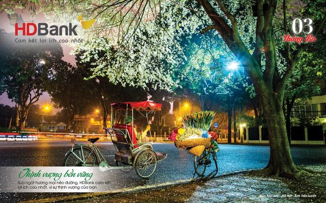 Đi cùng 12 mùa hoa đất nước qua lịch HDBank 2021 - Ảnh 4.