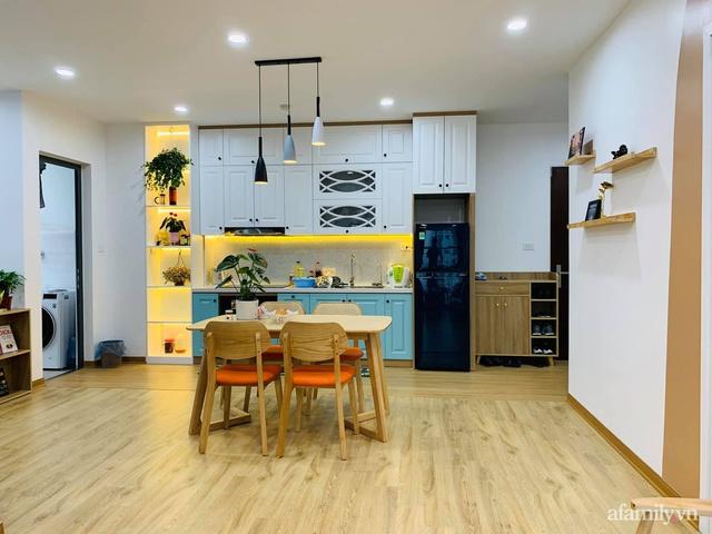 Nhà ở xã hội 69m² siêu ấm áp và tiện ích với chi phí cải tạo 200 triệu đồng của cặp vợ chồng 9X ở Từ Liêm, Hà Nội - Ảnh 1.