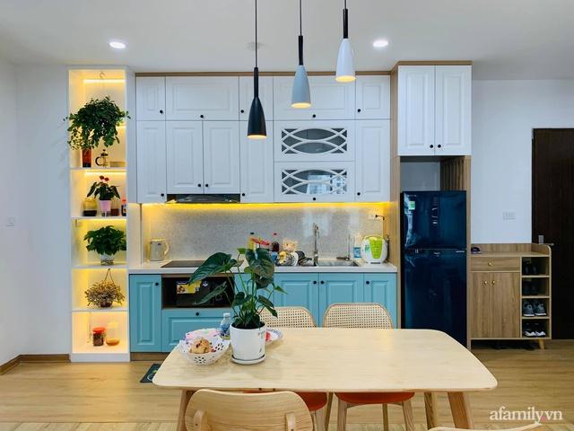 Nhà ở xã hội 69m² siêu ấm áp và tiện ích với chi phí cải tạo 200 triệu đồng của cặp vợ chồng 9X ở Từ Liêm, Hà Nội - Ảnh 15.