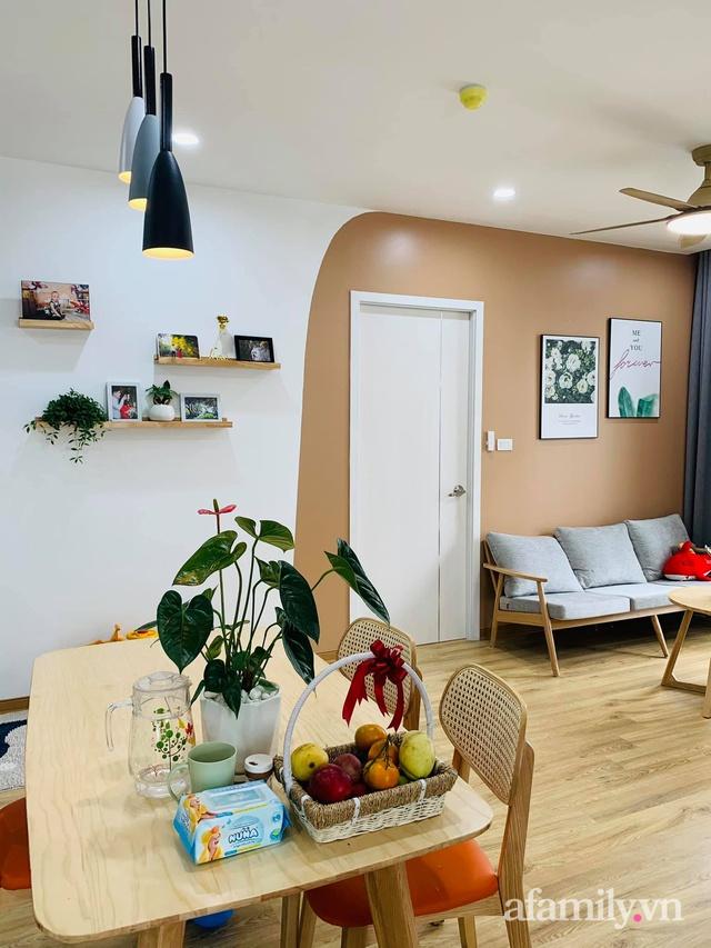 Nhà ở xã hội 69m² siêu ấm áp và tiện ích với chi phí cải tạo 200 triệu đồng của cặp vợ chồng 9X ở Từ Liêm, Hà Nội - Ảnh 16.