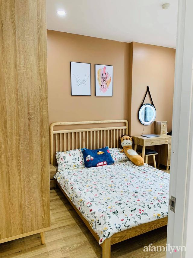 Nhà ở xã hội 69m² siêu ấm áp và tiện ích với chi phí cải tạo 200 triệu đồng của cặp vợ chồng 9X ở Từ Liêm, Hà Nội - Ảnh 21.