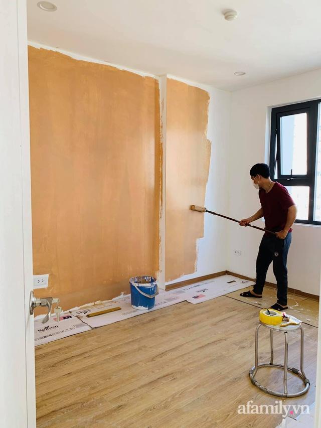 Nhà ở xã hội 69m² siêu ấm áp và tiện ích với chi phí cải tạo 200 triệu đồng của cặp vợ chồng 9X ở Từ Liêm, Hà Nội - Ảnh 5.