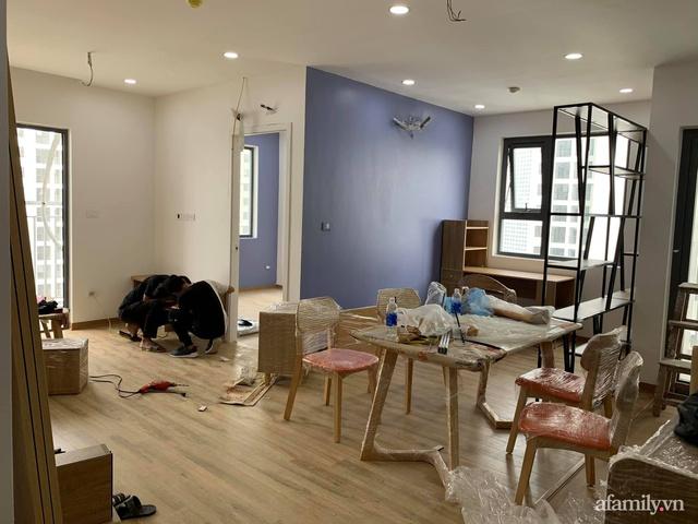 Nhà ở xã hội 69m² siêu ấm áp và tiện ích với chi phí cải tạo 200 triệu đồng của cặp vợ chồng 9X ở Từ Liêm, Hà Nội - Ảnh 6.