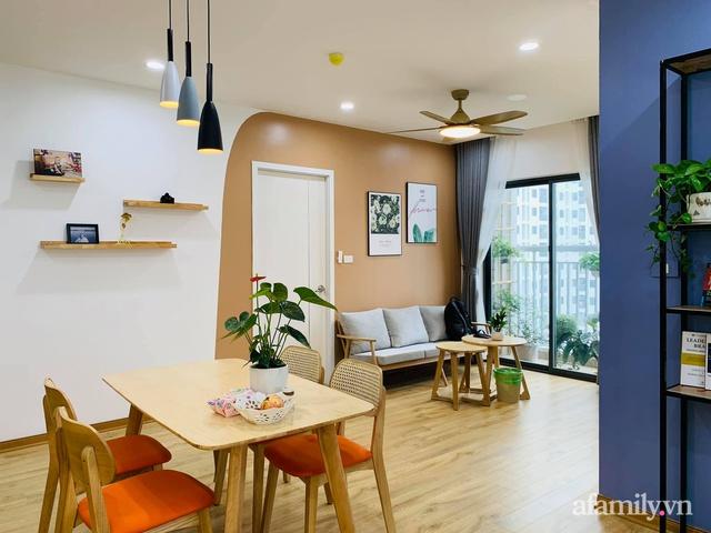 Nhà ở xã hội 69m² siêu ấm áp và tiện ích với chi phí cải tạo 200 triệu đồng của cặp vợ chồng 9X ở Từ Liêm, Hà Nội - Ảnh 8.
