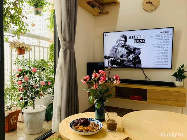 Nhà ở xã hội 69m² siêu ấm áp và tiện ích với chi phí cải tạo 200 triệu đồng của cặp vợ chồng 9X ở Từ Liêm, Hà Nội - Ảnh 9.