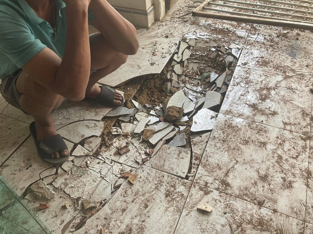 CLIP: Kinh hoàng xe tải lao thẳng vào nhà dân ở Đồng Nai - Ảnh 5.
