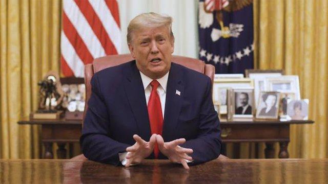 Ông Trump nói gì sau khi bị Hạ viện luận tội lần hai?  - Ảnh 1.