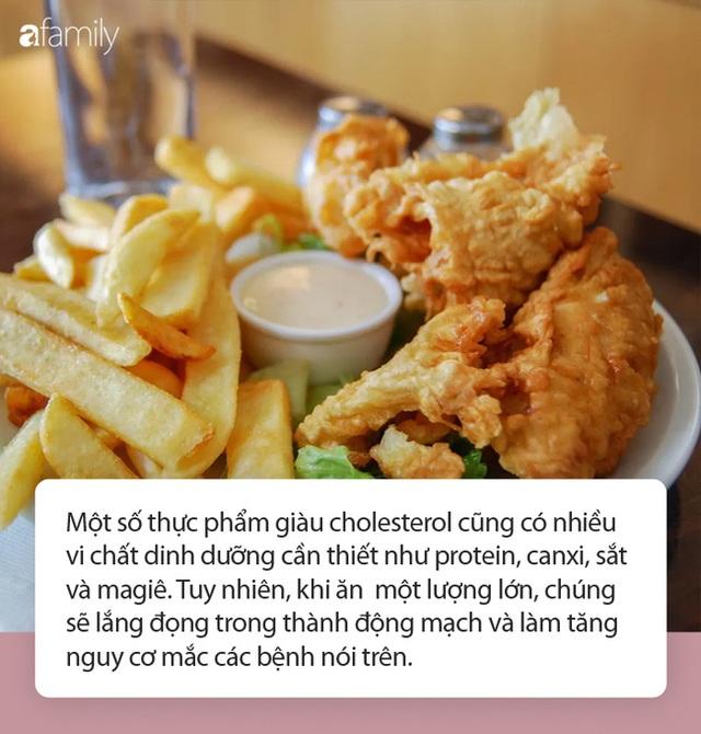 Khuyến cáo 7 NÊN và 3 KHÔNG NÊN sau khi ăn thực phẩm tưới đẫm cholesterol - Ảnh 1.