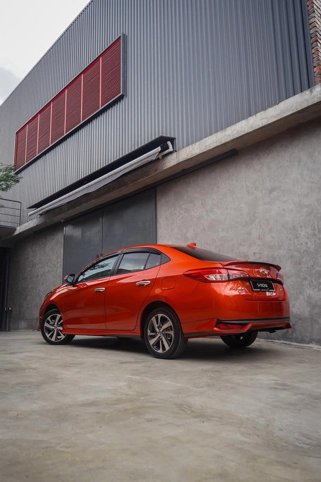 Lộ Toyota Vios 2021 chuẩn bị ra mắt tại Việt Nam: Dự kiến sớm nhất tháng 3, vua doanh số tiếp tục cản đường Hyundai Accent - Ảnh 5.