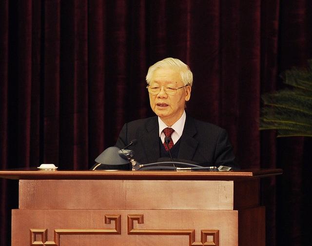 Chùm ảnh: Bế mạc Hội nghị Trung ương 15  - Ảnh 2.