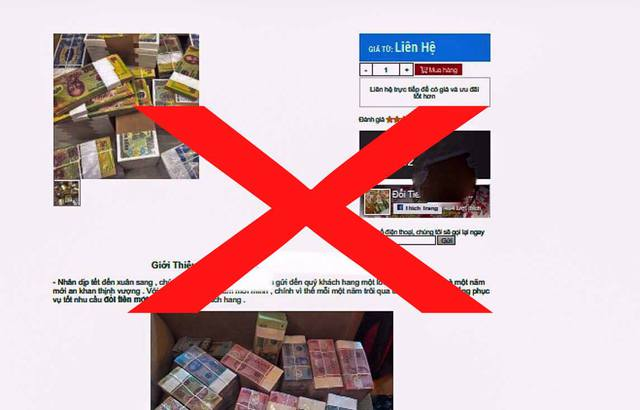 Đổi tiền lẻ 'vào mùa', cảnh giác nhận phải giấy lộn  - Ảnh 3.