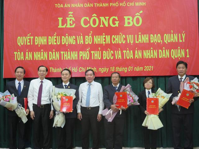 Ông Nguyễn Thành Vinh giữ chức Chánh án TAND TP Thủ Đức  - Ảnh 1.