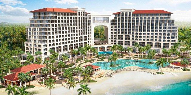 Khởi công tổ hợp khách sạn năm sao và trung tâm hội nghị quốc tế nằm trong siêu dự án 2.000ha tại Quảng Bình - Ảnh 1.