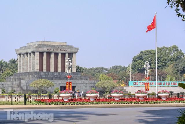 Hà Nội rực rỡ hoa chào mừng Đại hội Đảng lần thứ XIII - Ảnh 15.