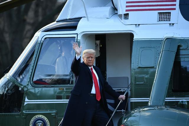 Tổng thống Trump lên Air Force One lần cuối, rời Washington D.C về làm thường dân - Ảnh 3.
