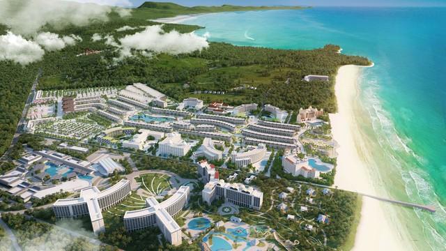 Cận cảnh đại dự án lớn nhất Phú Quốc trước ngày khai trương - Ảnh 1.